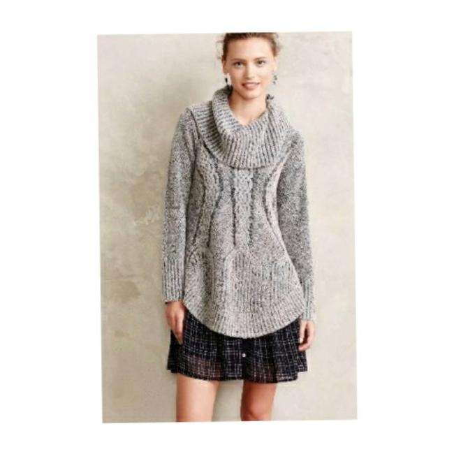 Item - Angel Of The North Cable Boucle Sweat... Gray Sweater