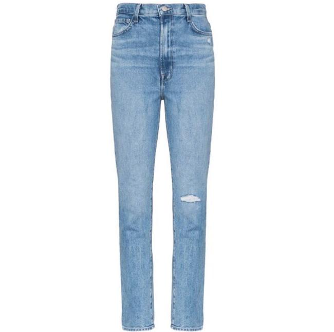 Item - Blue Light Wash 1212 Runway Straight Leg Jeans Size 0 (XS, 25)
