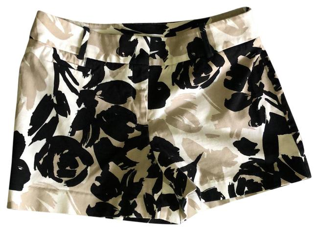 Item - Black Tan and White Summer Shorts Size 6 (S, 28)
