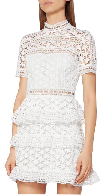 Item - White Style: Sp18-037w Short Casual Dress Size 8 (M)