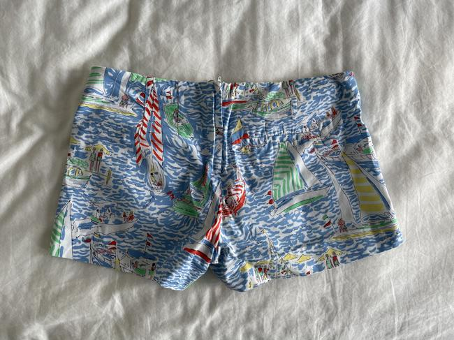 Lilly Pulitzer Multi Color Boat Print Shorts Size 6 (S, 28) Lilly Pulitzer Multi Color Boat Print Shorts Size 6 (S, 28) Image 2