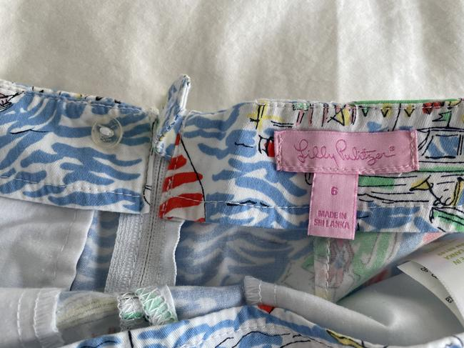Lilly Pulitzer Multi Color Boat Print Shorts Size 6 (S, 28) Lilly Pulitzer Multi Color Boat Print Shorts Size 6 (S, 28) Image 3