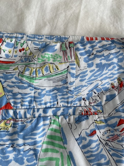 Lilly Pulitzer Multi Color Boat Print Shorts Size 6 (S, 28) Lilly Pulitzer Multi Color Boat Print Shorts Size 6 (S, 28) Image 5