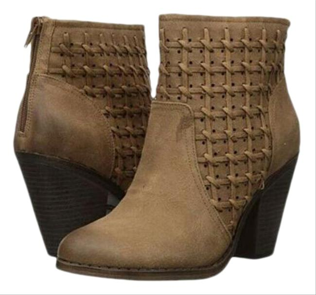Item - Brown New Women's Worthy Woven Ankle Boots/Booties Size US 12 Regular (M, B)