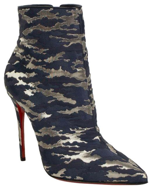 Item - Blue Camo 'so Kate' Ankle 7.5/37.5 Boots/Booties Size US 7.5 Regular (M, B)