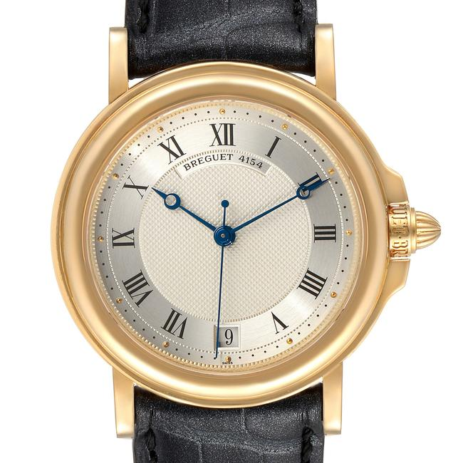 Item - Silver Classique 18k Yellow Gold Dial Mens 4154g Watch