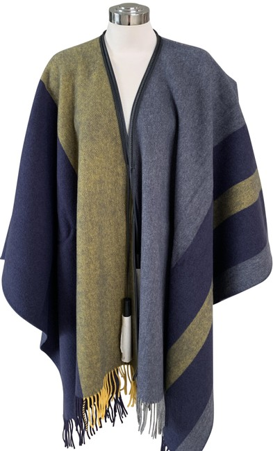 Item - Multicolor Casaque Equestrian Shawl Leather Tassels Poncho/Cape Size OS (one size)