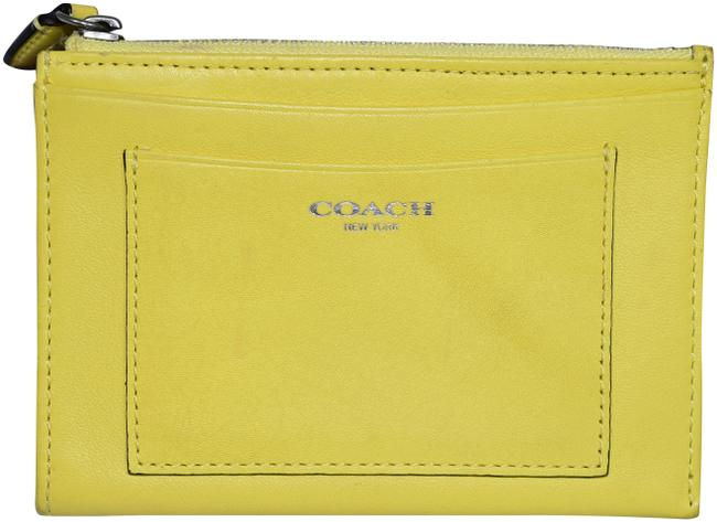Item - Pastel Yellow Key Pouch Card Holder Wallet
