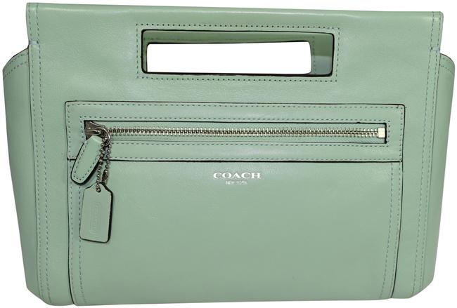 Item - Legacy Basket Mint Leather Clutch