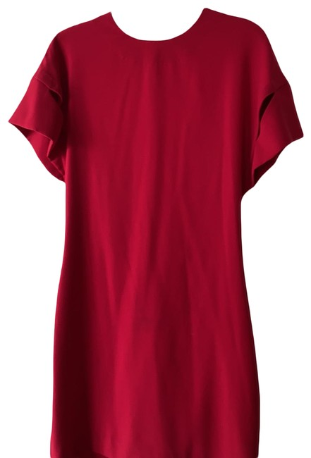 Item - Red . Short Cocktail Dress Size 4 (S)