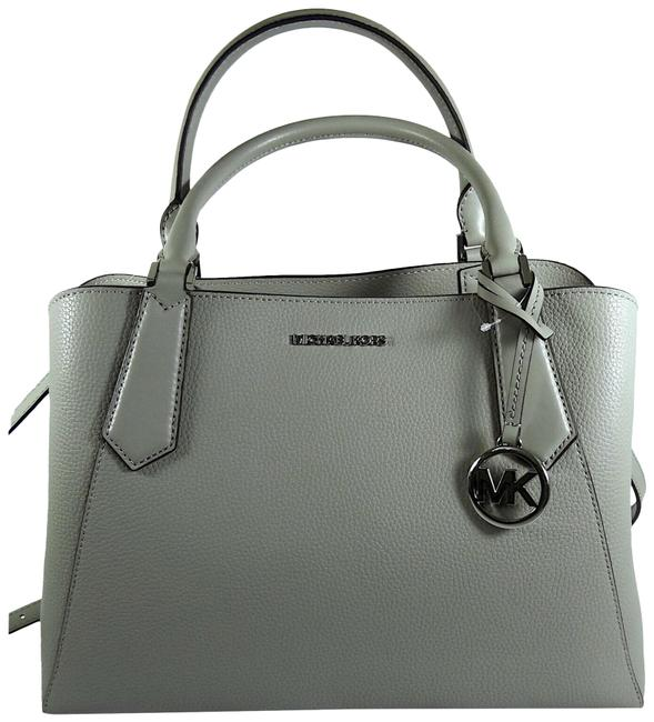 Item - Shoulder Bag East West Women's Kimberly Large Purse Pearl Grey Leather Satchel