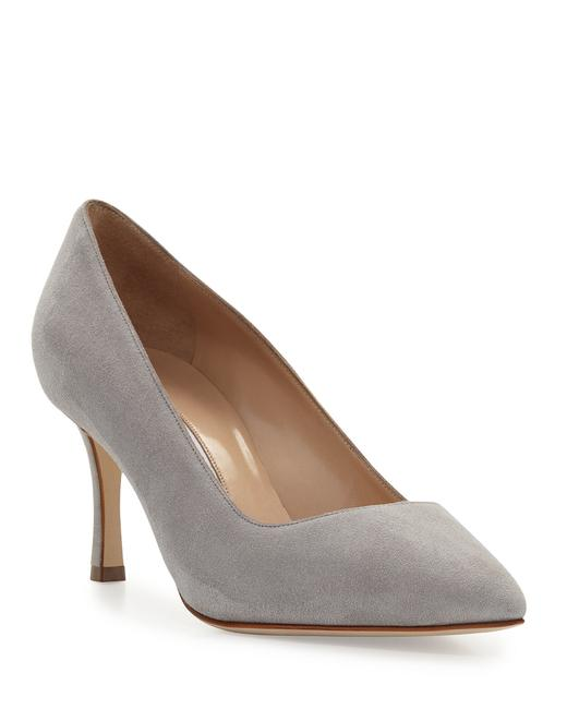 Item - Grey Bb Pointed Toe Suede (Se26)tp Pumps Size EU 36.5 (Approx. US 6.5) Regular (M, B)