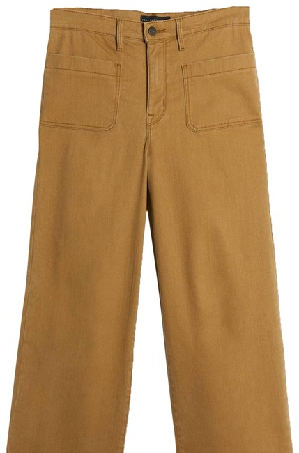 Item - Tan Sanctuary Cropped Wide Skinny Jeans Size 28 (4, S)