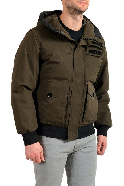 """Item - Olive Green Men's """"Disero"""" Hooded Insulated Mountain Jacket Size 4 (S)"""