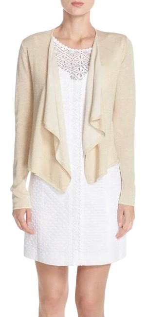 Item - Colony Cardigan Metallic Small Gold Sweater