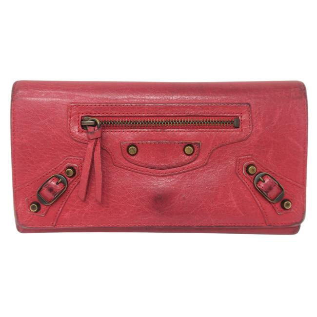 Item - Pink Hot Giant City Wallet