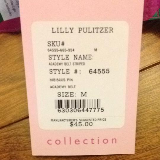 Lilly Pulitzer Lilly PulitzerAcademy Belt Striped D-ring Belt Size Medium