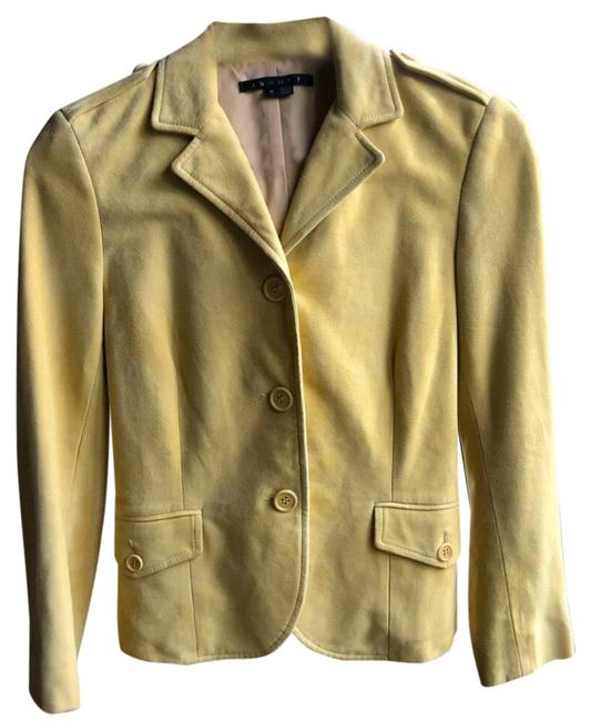 Item - Yellow Tan Suede Blazer Jacket Size 0 (XS)