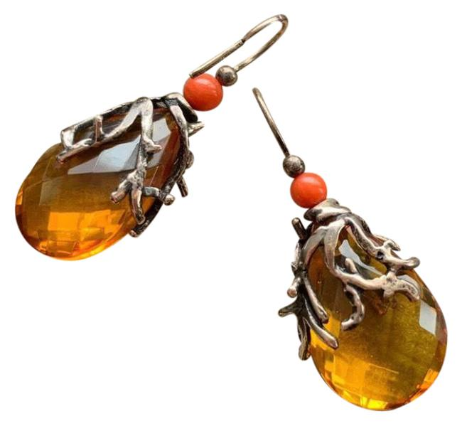Item - Amber Coral Earrings