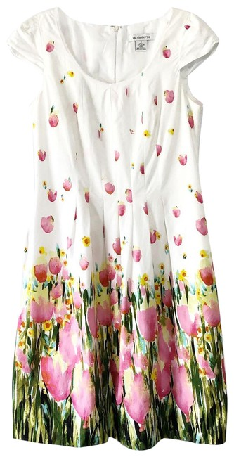 Item - White Tulip with Pockets Short Casual Dress Size 6 (S)