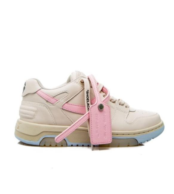 Item - O25000 Out Of Office Ooo Logo Leather Sneakers Size EU 37 (Approx. US 7) Regular (M, B)