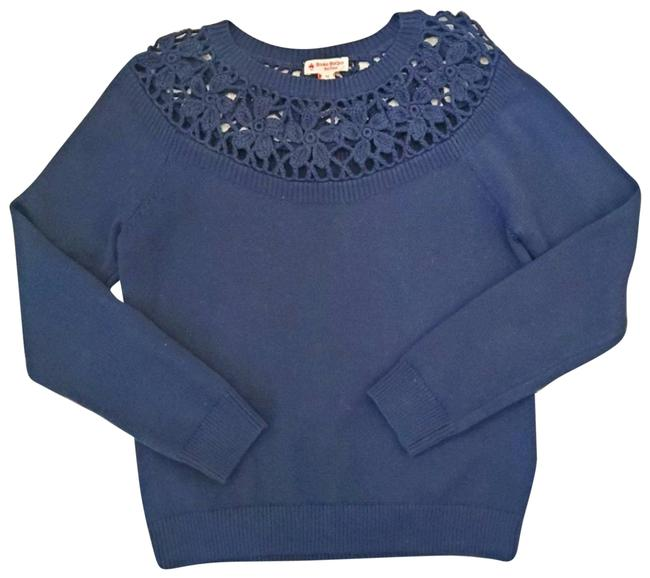 Item - Navy Knitted Blue Sweater
