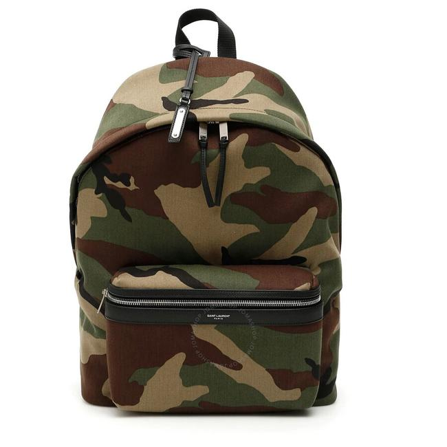Item - Camouflage Multi Color Canvas Backpack