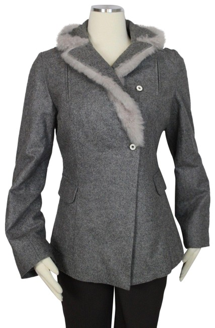 Item - Gray Jacket with Soft Coat Size 14 (L)