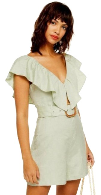 Item - Green Riviera Romper/Jumpsuit