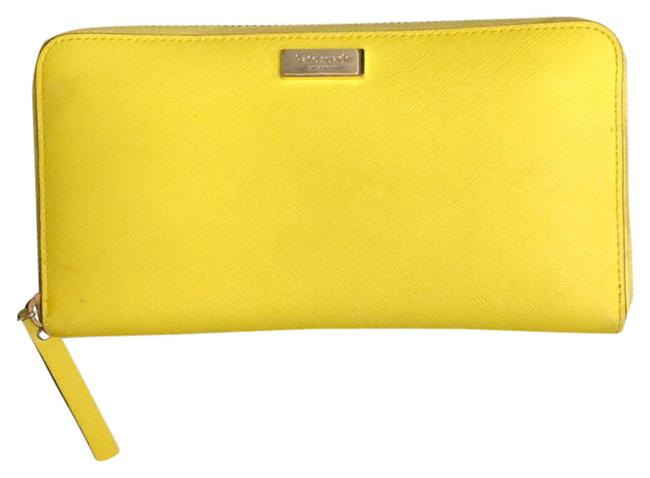 Item - Yellow Green Continental Wallet
