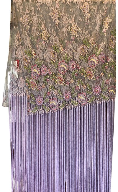 Item - Lavender Beaded Stole Scarf/Wrap