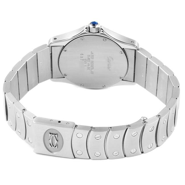 Cartier White Panthere Cougar 33mm Steel Mens W35002f5 Watch Cartier White Panthere Cougar 33mm Steel Mens W35002f5 Watch Image 7