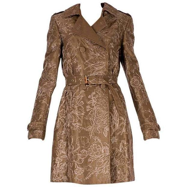 Item - Brown Limited Edition Embroidered and Beaded Coat Size 4 (S)