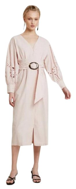 Item - Pink Cream Mid-length Casual Maxi Dress Size 6 (S)