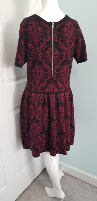 Romeo & Juliet Couture Red L Paisley Mid-length Work/Office Dress Size 14 (L) Romeo & Juliet Couture Red L Paisley Mid-length Work/Office Dress Size 14 (L) Image 4