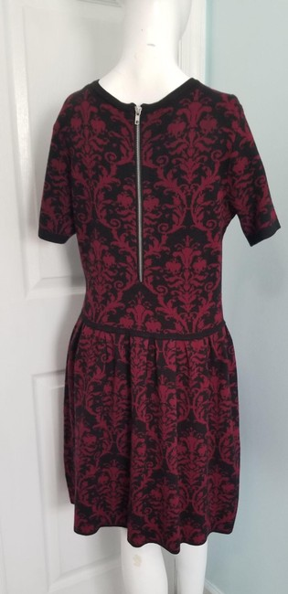 Romeo & Juliet Couture Red L Paisley Mid-length Work/Office Dress Size 14 (L) Romeo & Juliet Couture Red L Paisley Mid-length Work/Office Dress Size 14 (L) Image 5
