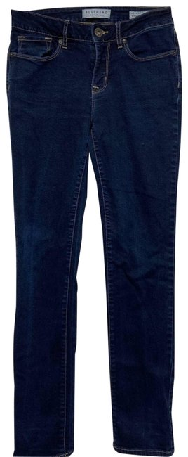 Item - Blue Dark Wash Juniors Skinny Jeans Size 27 (4, S)