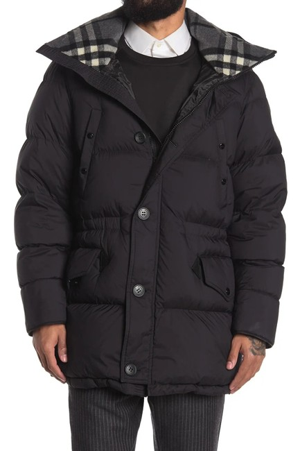 Item - Black Hartston Quilted Coat Size OS (one size)