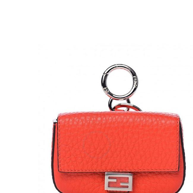 Item - Roma Amor Charm Red Leather Baguette