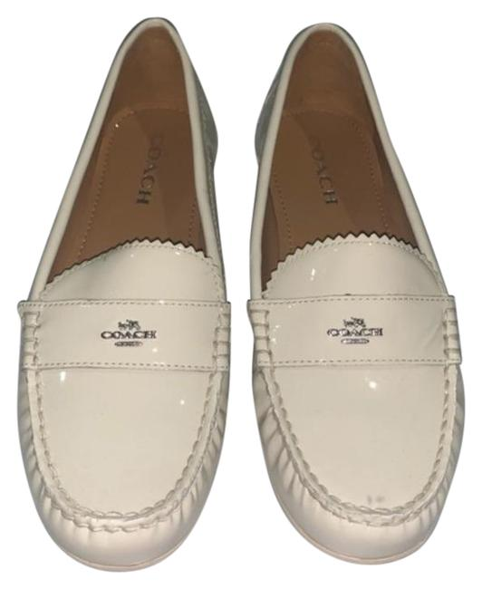 Item - Cream Tan Flats Size US 9.5 Regular (M, B)