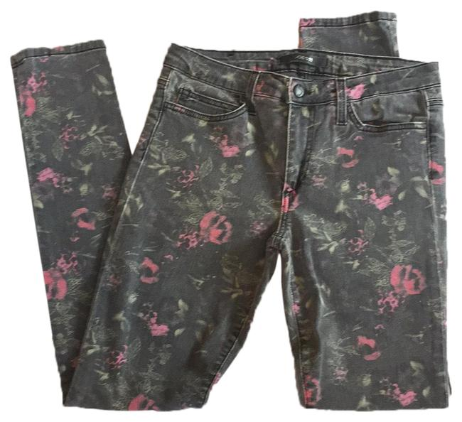 Item - Gray and Pink Skinny Jeans Size 8 (M, 29, 30)