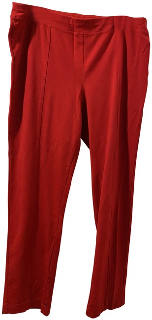 Item - Red Exclusively At Lord and Taylor Leggings Size 18 (XL, Plus 0x)