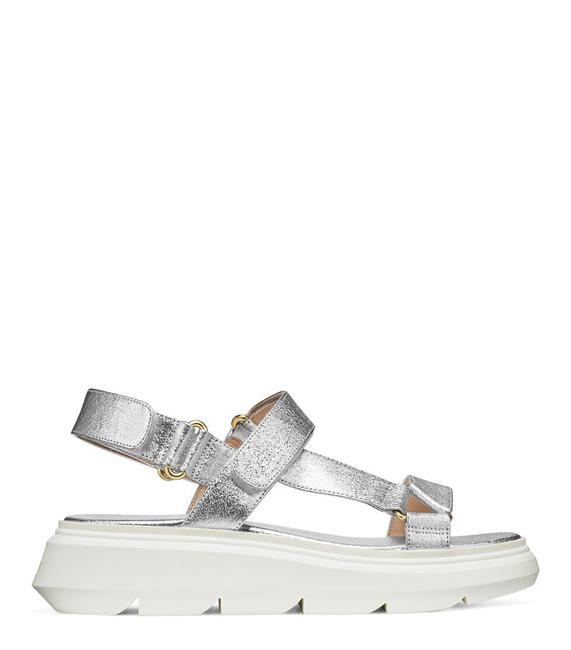 Item - Silver Zoelie Sports (New with Tag) Sandals Size US 5.5 Wide (C, D)