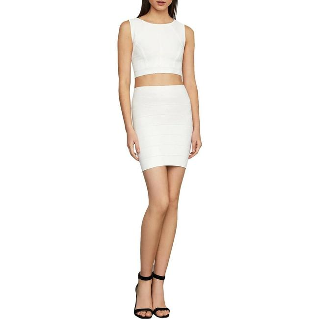 Item - White Womens Silvie Bandage Bodycon Textured Mini Skirt Size 00 (XXS, 24)