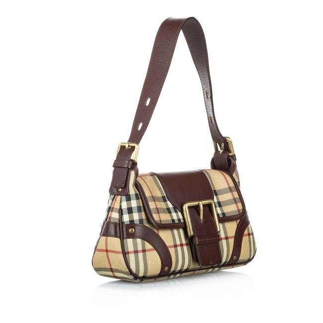 Item - Brown Leather Baguette