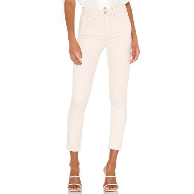 Item - Cream High Rise Jegging In Ivory Skinny Jeans Size 27 (4, S)
