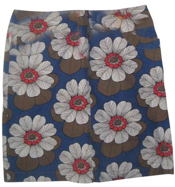 Boden Jean Styling Skirt multi