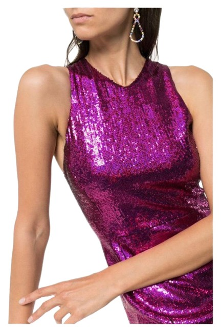Item - Pink Sequin Gown Long Formal Dress Size 2 (XS)