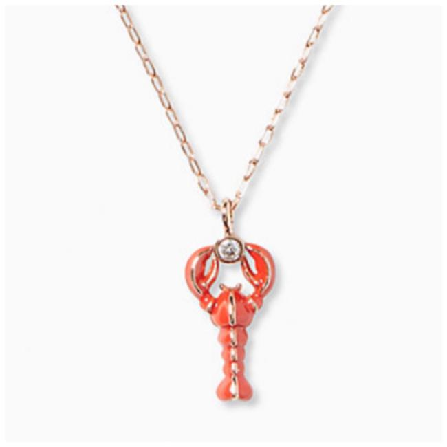 Item - Red • Love Lobster Mini Pendant Necklace