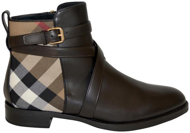 Item - Black Vaughan House Check Ankle Boots/Booties Size US 9.5 Regular (M, B)